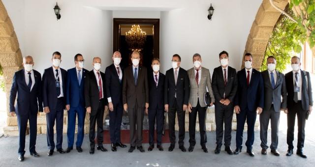 Cumhurbaşkanı Tatar:Anavatan Türkiye ile tam bir fikir ve eylem birlikteliği içerisindeyiz