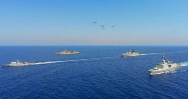 Güney Kıbrıs, Yunanistan, Fransa ve İtalya arasında tatbikat