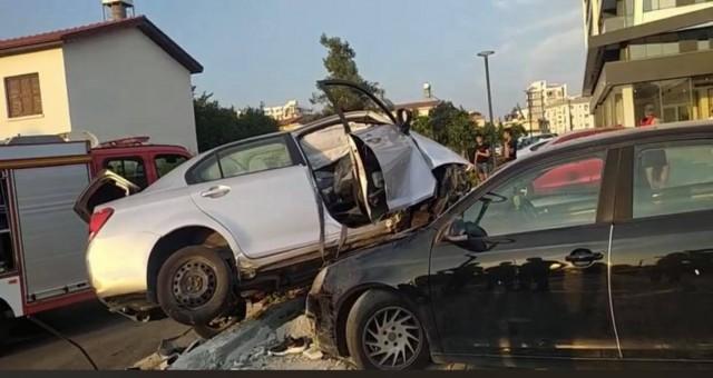Mağusa'da ölümlü kaza