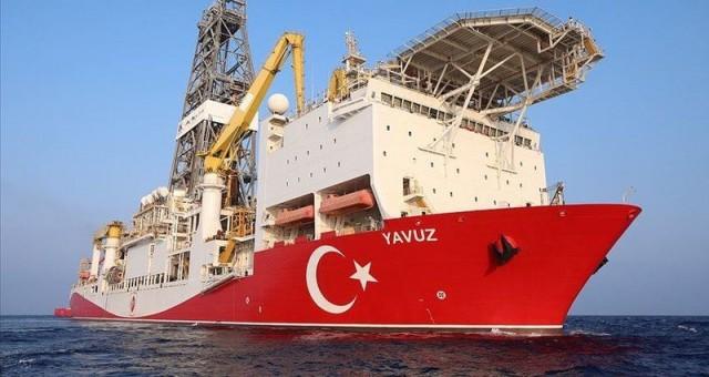 Yavuz sondaj gemisi Karadeniz'deki ilk görevi için yola çıktı