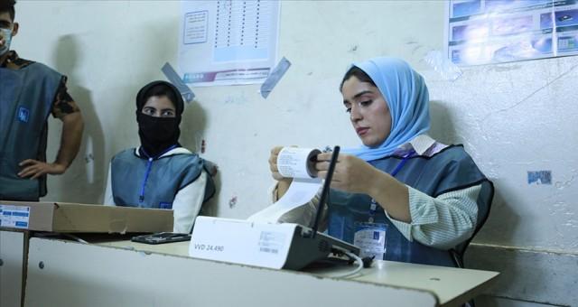 Irak'ta seçime katılım oranı yüzde 41 oldu