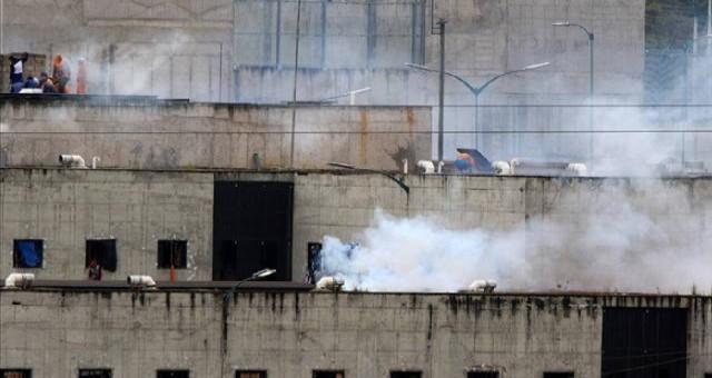 Ekvador'da cezaevinde çatışma: 24 ölü, 48 yaralı