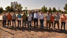 Denktaş'ın Anıt Mezarı çevresine Girne Belediyesi zeytin fidanı dikti