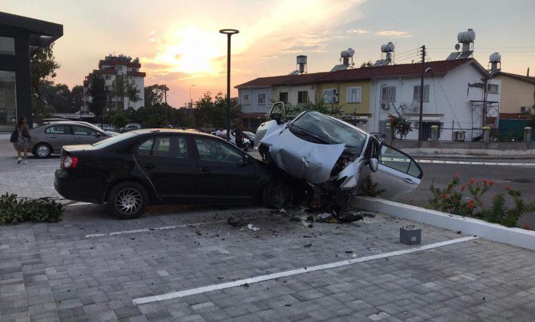 Gazimağusa'da feci kaza.. 62 Yaşındaki Barışer yaşamını yitirdi