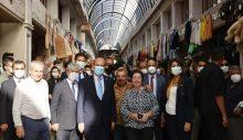 Cumhurbaşkanı Tatar, Hatay çarşısını gezdi