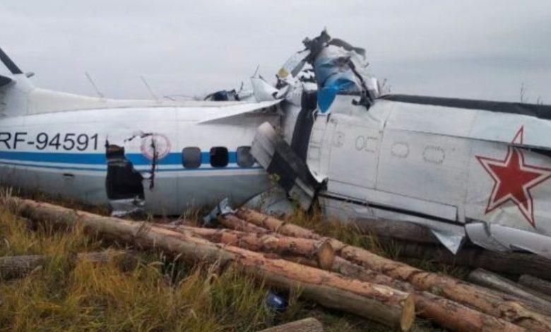 Tataristan'da uçak düştü